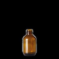 150 ml Verpackungsflasche - Braunglas - PP 28