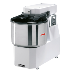 Bartscher Teigknetmaschine, Teigkneter für feste Teige wie Brot- und Pizzateig geeignet, Für 38 kg / 42 Liter
