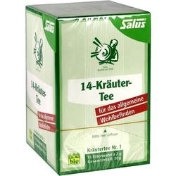 14-Kräuter-Tee Kräutertee Nr.1 Salus