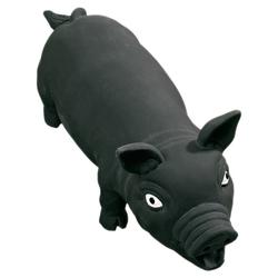Karlie Latexschwein schwarz, Maße: 33 cm