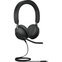 JABRA Evolve2 40, USB-C, MS Duo