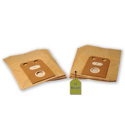 eVendix Staubsaugerbeutel Staubsaugerbeutel passend für Electrolux Z 135, 10 Staubbeutel ähnlich wie Original Electrolux Staubsaugerbeutel 114930, E 7, passend für Electrolux