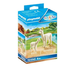 PLAYMOBIL® Family Fun Alpaka mit Baby 70350