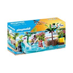 Playmobil® Spielfigur PLAYMOBIL® 70611 Kinderbecken mit Whirlpool