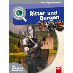 Leselauscher Wissen: Ritter und Burgen (inkl. CD & Bastelbogen): Buch von Hans-Jürgen van der Gieth