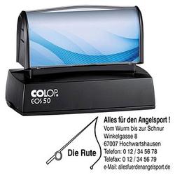 COLOP Textstempel, individualisierbar EOS 50 mit Logo