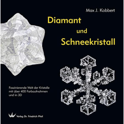 Diamant und Schneekristall