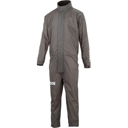 IXS All-Weather 1 stuk regen pak, grijs, XL