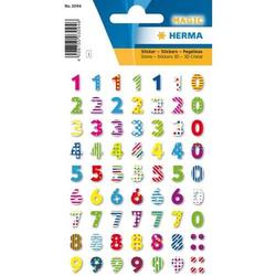 Sticker Magic Bunte Zahlen Stone