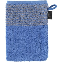 590 Waschhandschuh 16 x 22 cm blau