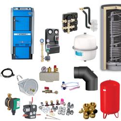 Atmos GSX70 Scheitholzvergaser / Holzvergaser | 70 kW | Komplettset 5
