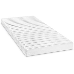 Bodyprotect Rollmatratze Komfortschaummatratze Micha in 140 x 200 x 13 cm, Härtegrad 3, weiß