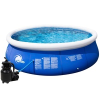 Intex Speed-Up Pool Set 366 x 84 cm inkl. Sandfilter