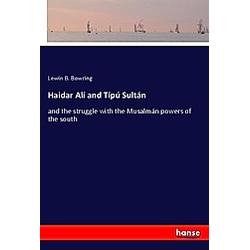 Haidar Alí and Tipú Sultán