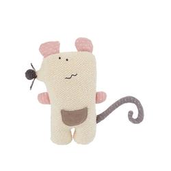 BIECO Plüschfigur Bieco Kuscheltier Maus 20 cm Maus Kuscheltier Gehäkelt Weiche Baby Stofftier Maus zum kuscheln Niedliches Maus Kuscheltier Baby Gehäkeltes Kuscheltier für Babys Baby Kuscheltiere
