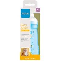 MAM Babyflasche Weithalsflasche Easy Active Baby Bottle - Häschen, blau