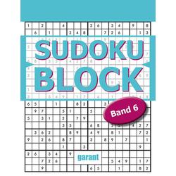 Sudoku Block Band 6: Buch von