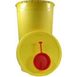 Kanüleneimer 2,5 l Gelb