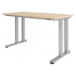 RINO 16 S | 160x80 | Schwerlast-Tisch - Eiche