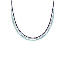 LEONARDO Edelstahlkette Lidera, 021324, mit Kristallglas