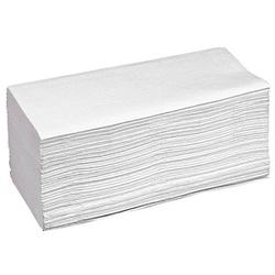 Papierhandtücher Zick-Zack-Falzung 1-lagig 5.000 Tücher