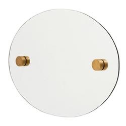 Nordal Ovaler Spiegel 35x50 cm Messing