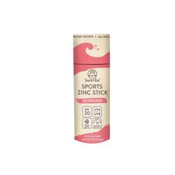 Suntribe - Sport Zinc Stick - Zinksonnencreme SPF 30 - Retro Red - 30 g