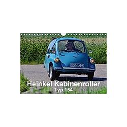 Heinkel Kabinenroller Typ 154 (Wandkalender 2021 DIN A4 quer) - Kalender