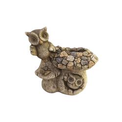HTI-Line Dekofigur Pflanzgefäß Stone Pilz 2 (1 Stück), Pflanzgefäß