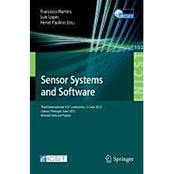 Sensor Systems and Software - Buch