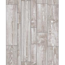 WOW Vliestapete Holz Textur, Holz, (1 St), Beige - 10m x 52cm