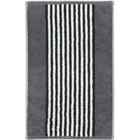 CAWÖ Black & White Gästehandtuch 30 x 50 cm anthrazit
