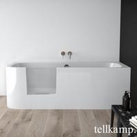 Tellkamp Salida L Rechteckbadewanne 80 x 180 cm mit Tür links (0100-043-00-A/CR)