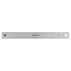 WESTCOTT Lineal   30,0 cm, grau