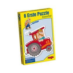 Haba Puzzle HABA 3900 6 Erste Puzzle - Bauernhof, Puzzleteile