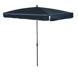 Madison LEROS Sonnenschirm Gartenschirm 210x140cm schwarz