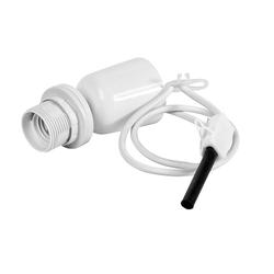 VBS Lampenfassung Hängefassung Pendelleuchte E27, weiß mit Deckenanschluss