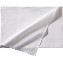 DDDDD Tischdecke Latus, Damast weiß quadratisch - 150 cm x 150 cm