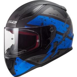 LS2 FF353 Rapid Deadbolt Matte-Black/Blue
