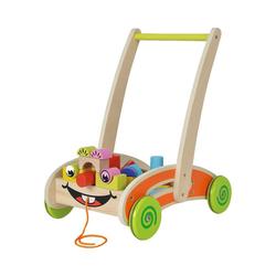 Eichhorn Lauflernwagen Spielwagen mit Bausteinen
