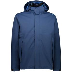 CMP 3-in-1-Jacke mit abnehmbarem Innenfleece für Herren, blau, 54