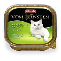 Animonda Vom Feinsten für kastrierte Katzen Pute pur 32 x 100 g