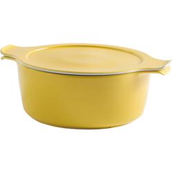 Eschenbach Kochtopf Cook & Serve, Porzellan, (1 tlg.), Ø 20 cm, 2 Liter, Induktion gelb Suppentöpfe Töpfe Haushaltswaren
