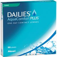 Alcon Dailies AquaComfort Plus Toric 90 St. / 8.80 BC / 14.40 DIA / 0.00 DPT / -1.25 CYL / 90° AX