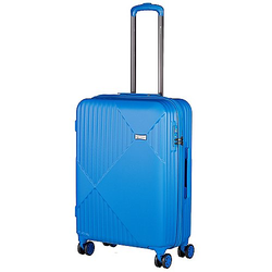 Check In Liverpool 4-Rollen Trolley 68 cm - blau