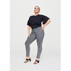Rock Your Curves Ladies Jeans grey, Gr. 46, Baumwolle - Damen Jeans