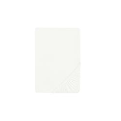 Biberna Boxspring-Spannbetttuch in weiß, 140 x 200 x 25 cm