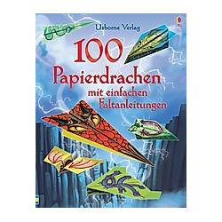 100 Papierdrachen