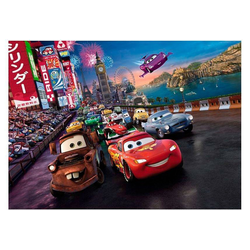 Komar Fototapete Cars Race 254x184cm, glatt, Comic