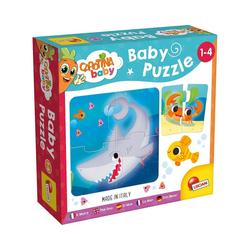 Lisciani Steckpuzzle Carotina Baby - Puzzle Das Meer, Puzzleteile
